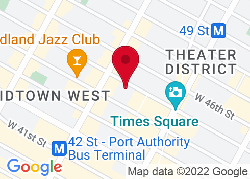 Minskoff Theatre Google Maps Location