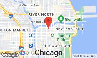 Map of 200 North Dearborn Street #2501 CHICAGO, IL 60601