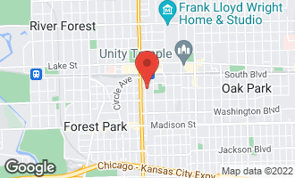 Map of 200 South Maple Avenue #10 OAK PARK, IL 60302