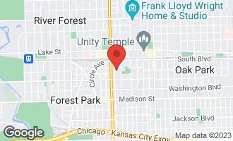 Map of 200 South Maple Avenue G OAK PARK, IL 60302