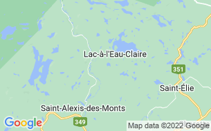 Map of Domaine Camping Lac Caché