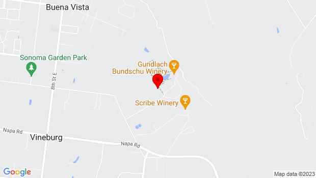 Google Map of 2000 Denmark Street, Sonoma, CA
