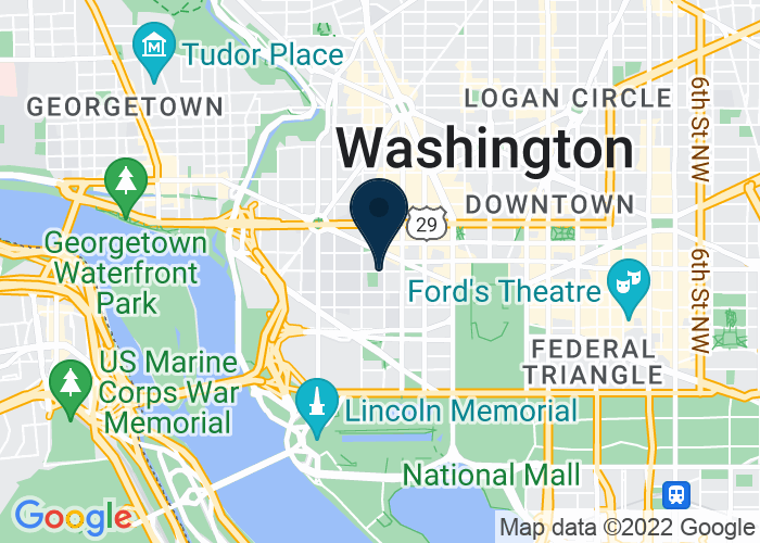 Map of 2000 H Street NW, Washington, DC 20001, United States