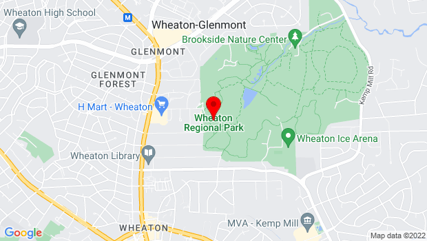Google Map of 2000 Shorefield Road, Wheaton, MD 20902