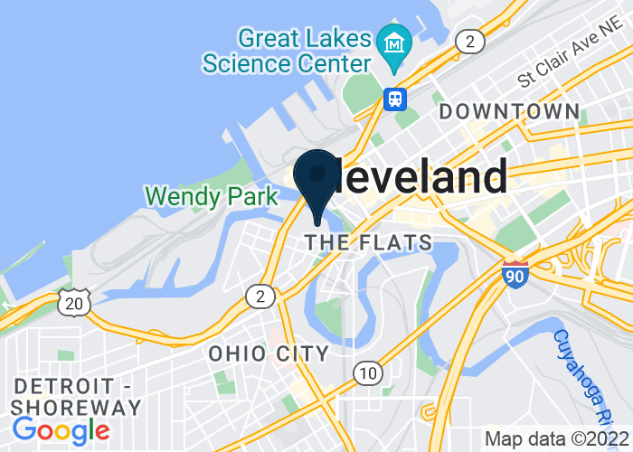 Map of 2000 Sycamore St., Cleveland, OH 44113, United States