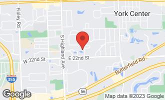 Map of 2000 Saint Regis Drive 5H Lombard, IL 60148