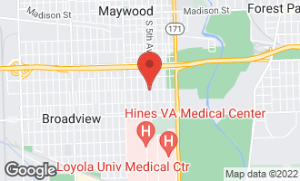 Map of 2000 South 5th Avenue 1-S MAYWOOD, IL 60153