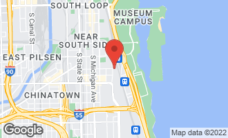 Map of 2001 South Calumet Avenue #312 CHICAGO, IL 60616