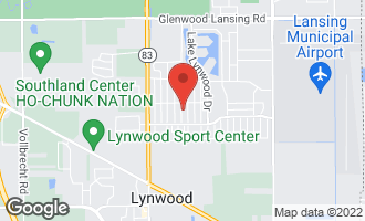 Map of 20031 Orchard Avenue LYNWOOD, IL 60411