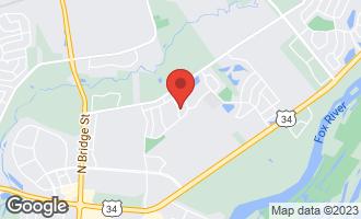 Map of 2008 Switchgrass Lane YORKVILLE, IL 60560