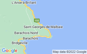 Map of Camping Cap Rouge