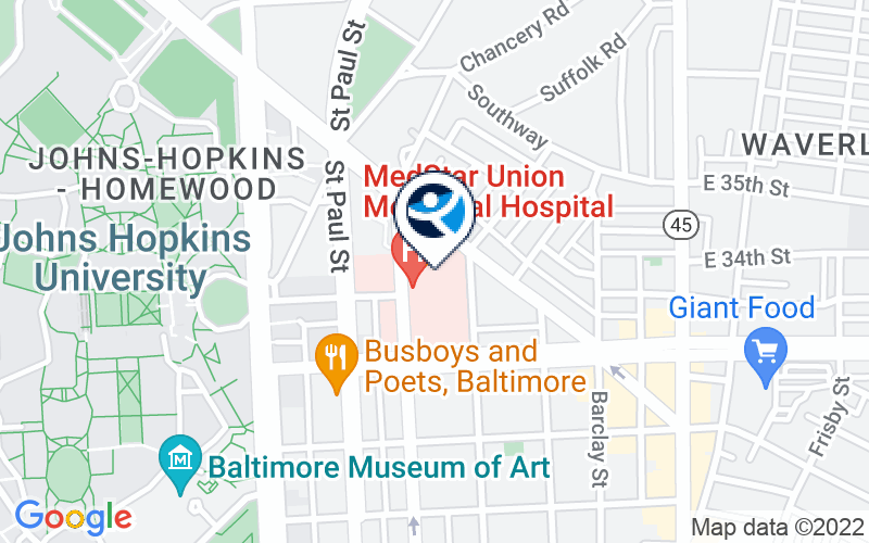 MedStar Union Memorial Hospital Emergency Room Location and Directions