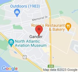 Google Map of 201+Airport+Boulevard%2CGander%2CNewfoundland+A1V+1W5