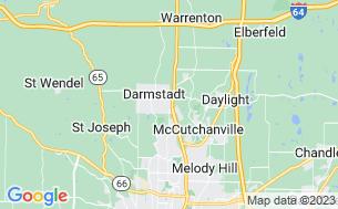 Map of Vanderburgh 4-H Center Inc.