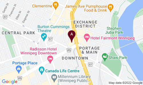map of Entino Financial Planning Inc.