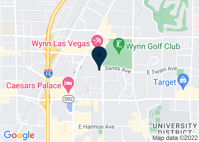 Map of 201 Sands Ave, Eureka Park at Sands Hall G, Level 1, Booth 51542, Las Vegas, NV, United States