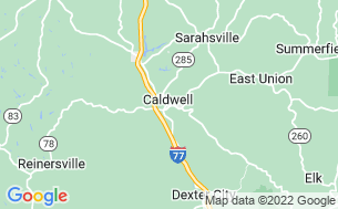 Map of Hillview Campgrounds