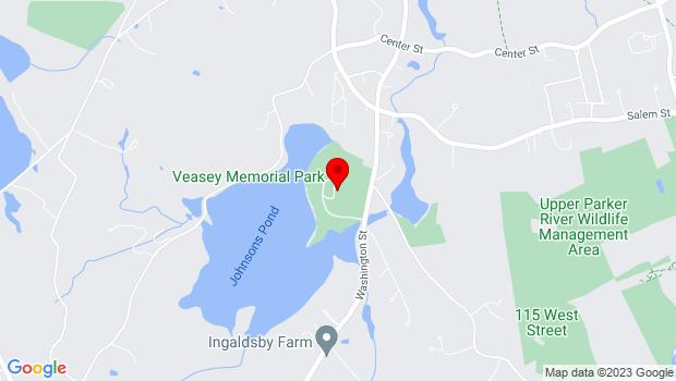 Google Map of 201 Washington Street, Groveland, MA 01834