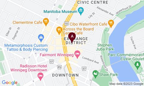 map of Richard Wintrup & Associates