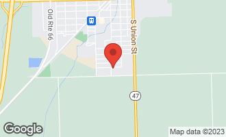 Map of 201 Julie Drive DWIGHT, IL 60420