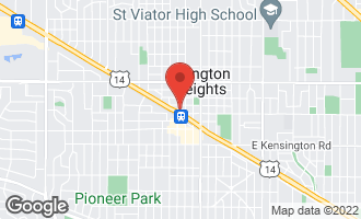 Map of 201 North Vail Avenue #804 ARLINGTON HEIGHTS, IL 60004