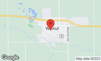 Map of 201 South Main Street Walnut, IL 61376