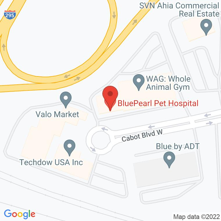 Google Map of 2010 Cabot Blvd. West Suite D, Langhorne, PA 19047, 2010 Cabot Blvd. West Suite D, Langhorne, PA 19047