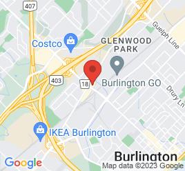 Google Map of 2016+Plains+Road+East%2CBurlington%2COntario+L7R+5B3