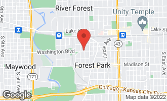 Map of 202 Ashland Avenue RIVER FOREST, IL 60305