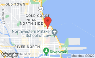 Map of 202 East Walton Place 2E CHICAGO, IL 60611