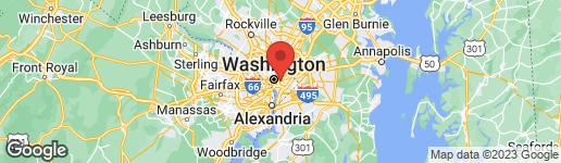 Map of 202 F STREET NE WASHINGTON, DC 20002