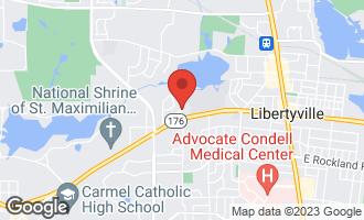 Map of 202 Pond Ridge Road LIBERTYVILLE, IL 60048