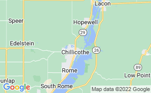 Map of Chillicothe Recreational Area Ltd