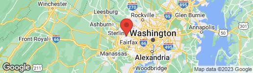 Map of 2021 LAKEBREEZE WAY RESTON, VA 20191