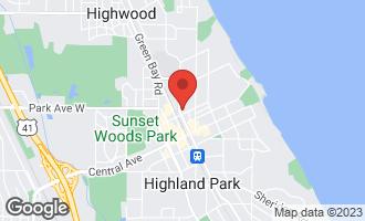 Map of 2021 St Johns Avenue 2H Highland Park, IL 60035