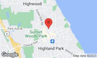 Map of 2021 St Johns Avenue P4 HIGHLAND PARK, IL 60035