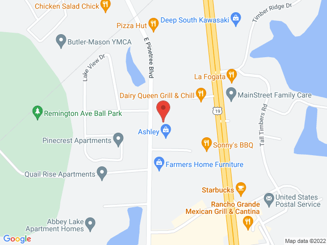 Click map to get driving directions
