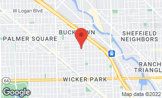 Map of 2027 West Mclean Avenue CHICAGO, IL 60647