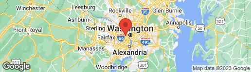Map of 2030 ADAMS STREET N #1207 ARLINGTON, VA 22201
