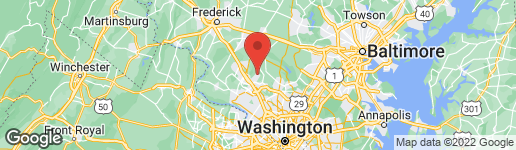 Map of 20345 BICKLETON PLACE MONTGOMERY VILLAGE, MD 20886