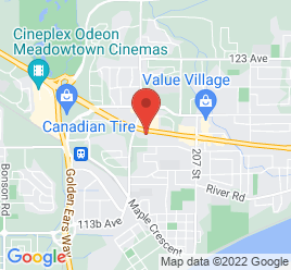 Google Map of 20370+Lougheed+Hwy%2CMaple+Ridge%2CBritish+Columbia+V2X+2P8