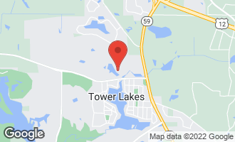 Map of 204 Circle Drive TOWER LAKES, IL 60010