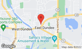 Map of 204 Dunridge Circle EAST DUNDEE, IL 60118