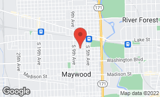 Map of 204 South 7th Avenue MAYWOOD, IL 60153
