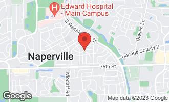 Map of 204 Tanoak Lane NAPERVILLE, IL 60540