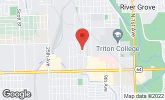 Map of 2040 North 15th Avenue MELROSE PARK, IL 60160