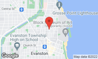 Map of 2040 Sherman Avenue 1C EVANSTON, IL 60201