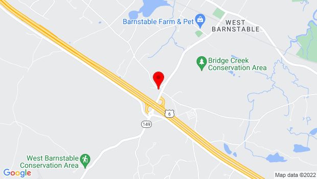 Google Map of 2049 Meetinghouse Way, West Barnstable, MA