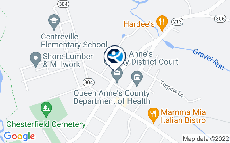 Queen Anne's County Department of Health - Addictions Treatment and Prevention Services Location and Directions