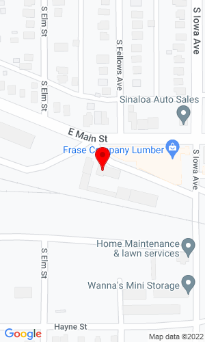 Google Map of Carroll Distributing & Construction Supply Inc 205 S Iowa Avenue, Ottumwa, IA, 52501